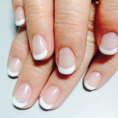 shellac nails squoval shape square