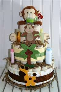 Image Search Results for jungle theme diaper cake