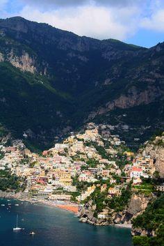 Positano, Campania | Italy (by Liam Cheasty)