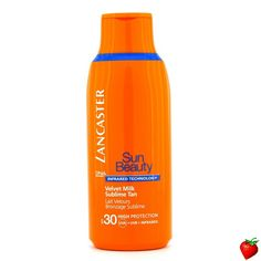 Lancaster Sun Beauty Velvet  Milk Sublime Tan SPF 30 175ml/5.9oz #Lancaster #Skincare #SunScreen #SummerSpecials #Summer #Beach #Beauty #HotPick #FREEShipping #StrawberryNET