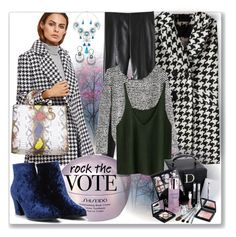 """Rock the Vote in Style"" by ane-twist ❤ liked on Polyvore featuring Shiseido, Christian Dior and rockthevote"
