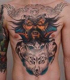 Full Body Tattoo, Body Tattoos, Americana Tattoo, Biblical Art, American Traditional, Color Tattoo, Body Painting, All Art, Piercings