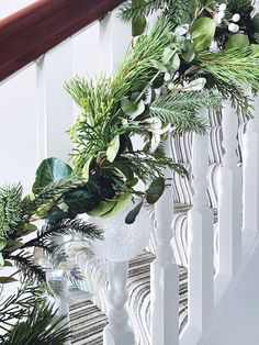 Five steps to simple but beautiful contemporary Christmas garlands, pimped with fresh pine, eucalyptus and baubles. Most Beautiful Pictures, Cool Pictures, Christmas Garlands, Tis The Season, Pine, Seasons, Fresh, Contemporary, Simple