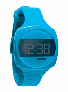 Nixon Dash Watch - Women's Sky Blue, One Size by NIXON. $106.00. Polycarbonate Case. Day/Date. Comfortable Watch by Nixon. Injected Silicone Band. Sporty. The Nixon women's Dash Watch is a custom digital with day/date and light.