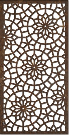 Jali Design Inspiration is a part of our furniture design inspiration series. Jali design inspirational series is a weekly showcase of incredible furniture designs from all around the world. Laser Cut Patterns, Stencil Patterns, Stencil Designs, Cnc Cutting Design, Laser Cutting, Motifs Islamiques, Decorative Screen Panels, Jaali Design, Stencils