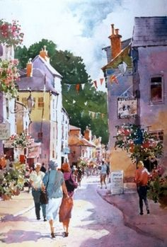 watercolor by Carl Purcell