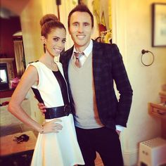 Lydia Stirling McLaughlin of Real Housewives of Orange County with her husband Doug