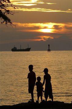 Evening at Dili, Timor Leste