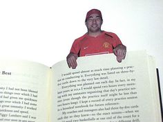 DIY photo book marks