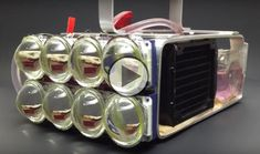 """Water-Cooled Led Flashlight Samm Shepard, a college senior studying aviation technology says he likes to do """"fun things"""" and then sometimes follow them"""
