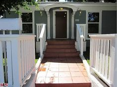 1920 West Hollywood craftsman-style bungalow.