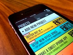 iPhone Apps UI Design