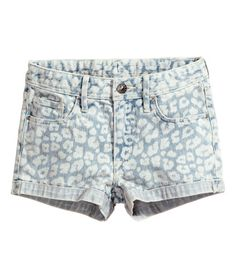 Denim shorts | Product Detail | H&M