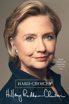 'A New Chapter': The New Epilogue To Hillary Clinton's 'Hard Choices' :    Huff Post  - 4/10/15 #Hillary2016