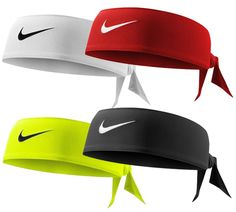 Check out these Nike Tie Headbands! Nike Tie Headbands, Athletic Headbands, Sports Headbands, Softball Headbands, Athletic Outfits, Athletic Wear, Sport Outfits, Sporty Hairstyles, Headband Hairstyles