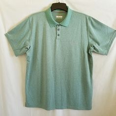 c7f4999b Columbia Omni Shade Mens Polo Shirt Short Sleeves Sun Protection Green Size  XL #Columbia #