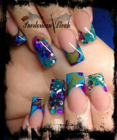 DulceMaría Fabulous Nails, Gorgeous Nails, Rose Nails, Gel Nails, Hard Nails, Exotic Nails, Toe Nail Designs, Healthy Nails, Best Acrylic Nails