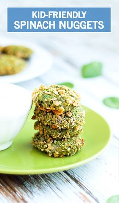 Looking for a fun and healthy snack for the new year? Your little ones will have a hard time turning their noses up at these Homemade Spinach Bites. This meal is so delicious, your kids might not even notice it's a better-for-you snack!