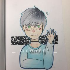 Awesome manga character drawn by @_.moonart._ with their Chameleon Pens.   #chameleonpens #art #artwork #traditionalart #micron #sketch #artist #gellyroll #anime #manga #copic