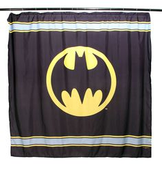DC Comics Batman Symbol Shower Curtain