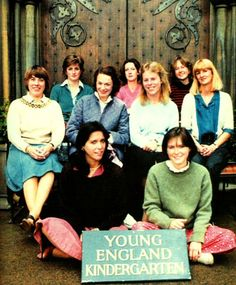 Lady Diana Spencer & the Staff of The Young England Kindergarten