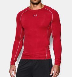 Men s UA HeatGear® Armour Long Sleeve Compression Shirt Men s Football,  Second Skin, Mesh. Under Armour 44847edd2601