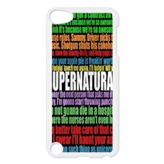 Supernatural Quote Phone Cover Case For iPod touch 5 White CGD165279 - Brought to you by Avarsha.com