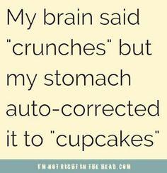 Good stomach...