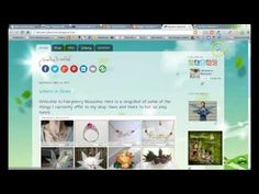 Install social media icons on Blogger  sidebar. How to Use Blogger Gadgets and Template Designer
