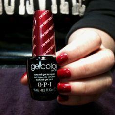 OPI Gelcolor- I'm Really Not a Waitress