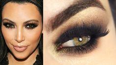 Tutorial – a maquiagem cat eyes sexy de Kim Kardashian