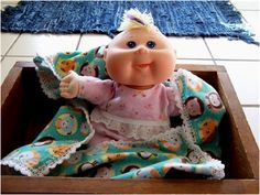 Art Threads: Free sewing pattern for Cabbage Patch - Surprise Newborn Doll Clothes