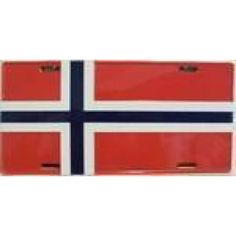 Norway Flag - Ultimate Flags License Plates For Sale, Norway Flag, Flag Store, Flags For Sale, Star Spangled Banner, Metal Signs, Helping People, Wall Decor, Wall Hanging Decor