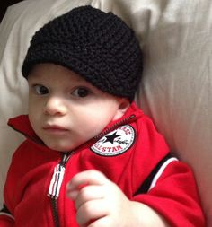 Handmade crochet baby cap hat Hat newsboy hat in by SueStitch