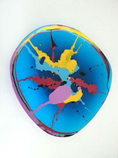 Dinosaur Designs Platter Dinosaur Design, Decorative Plates, Epoxy, Platter, Resin, Ceramics, Table, Art, Ideas
