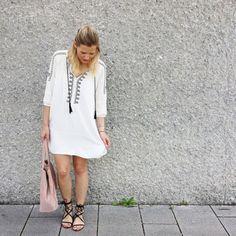 tifmys - Zara dress, Mango sandals & bag.