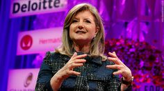 Arianna Huffington advocates for women to repeat outfits - Oct. 10, 2017