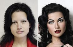 28 Before and After Makeup Photos That Will Make You Say Wow!
