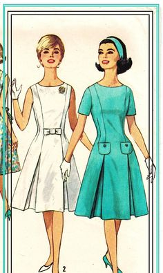 ON SALE Simplicity 4920 Vintage 60s Inverted by PatternPlaying, $5.00