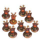 Set of 9 Reindeer Rubber Duckies Christmas Duck Party Favors - http://tonysbooks.com/2014/12/18/set-of-9-reindeer-rubber-duckies-christmas-duck-party-favors/