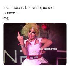 Also ignoring people 🤣 Drag Queen Meme, Rupaul Drag Queen, Look Girl, My Girl, Trixie And Katya, Alyssa Edwards, Adore Delano, Drag Queens, Reaction Pictures