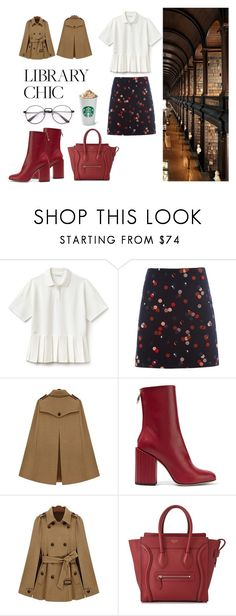 """Fashion nerd"" by petra-milas ❤ liked on Polyvore featuring Lacoste, White Stuff, Petar Petrov and CÉLINE"