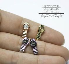 1:12 Dollhouse Miniature Watch/ Miniature Clock/ Doll Watch