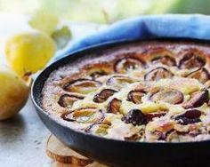 Flan aux prunes (facile, rapide) - Une recette CuisineAZ