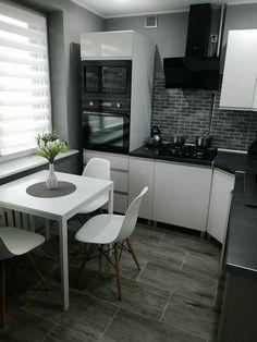 Малогабаритная королевская кухня  15 удачных дизайн-проектов в хрущёвках ff116c0efb4da
