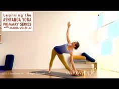 Ashtanga Yoga Primary Series: Utthita Trikonasana with Maria Villella