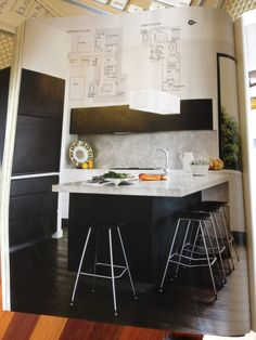 Australian House & Garden Magazine- November 2014 Issue - Austin Design Associates www.austindesign.com.au - Kitchen and Study feature cabinetry finished in NAVLAM Arcadian Oak, New Age veneers.