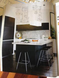 Australian House & Garden Magazine- November 2014 Issue - Austin Design Associates www.austindesign.com.au - Kitchen and Study feature cabinetry finished in Navlam Sandblasted™ Arcadian Oak, New Age veneers.