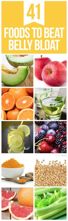 Beat the bloat with these amazing foods.