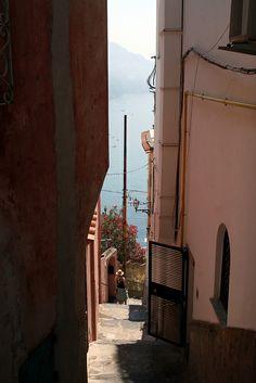 Positano Street, Amalfi Coast, Italy